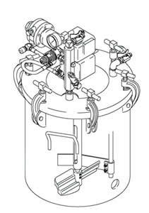 236-152 5 gallon Agitated Pressure Tank