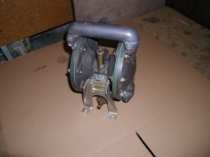 "Used ARO 1"" Aluminum Diaphragm Pump"