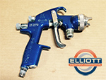 Used Devilbiss Compact HVLP Spray Gun - COM-PS507B-14-00