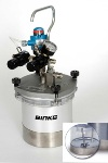 Binks SG-2 80-651 2-Quart Pressure Cup w/Rotary Agitator