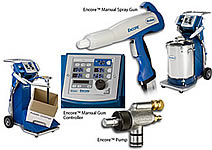 nordson manual powder spray system